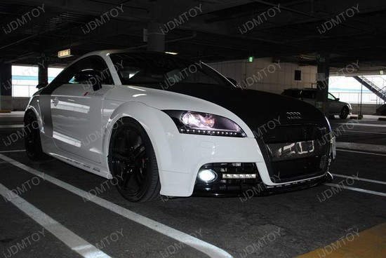 Audi - TT - S - LED - DRLS - Hella - LEDayline - lights - 3